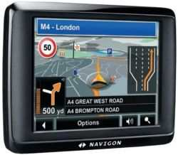 Nawigacja GPS Navigon 1400
