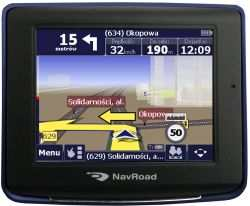 Nawigacja GPS NavRoad NR370