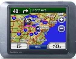 Nawigacja GPS Garmin Nuvi 205