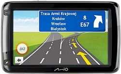 Nawigacja GPS Mio Spirit 687