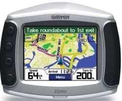 Nawigacja GPS Garmin Zumo 550